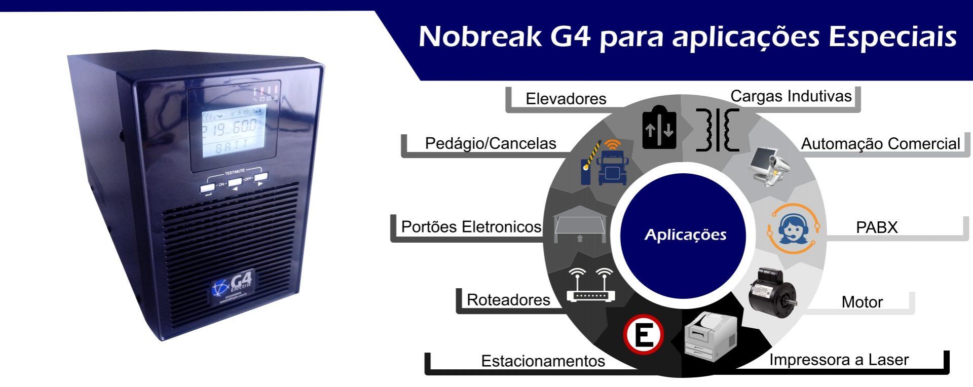 Nobreak G4 Electric Interativo Senoidal Puro Família Ess-400n